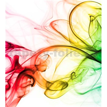 Vliesové fototapety dym farebný rozmer 225 cm x 250 cm