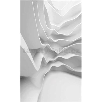 Vliesové fototapety futuristické vlny rozmer 150 cm x 250 cm