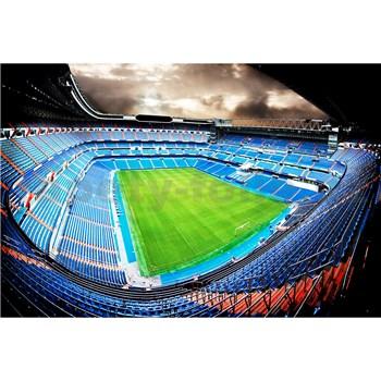 Vliesové fototapety futbalový štadión rozmer 375 cm x 250 cm