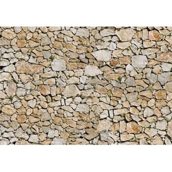 Vliesové fototapety kamenný múr, rozmer 312 cm x 219 cm