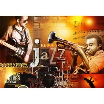 Vliesové fototapety Jazz, rozmer 104 cm x 70,5 cm
