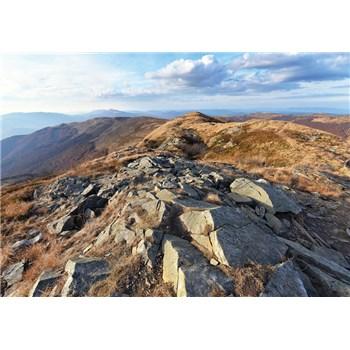 Vliesové fototapety výhľad z hôr, rozmer 312 cm x 219 cm
