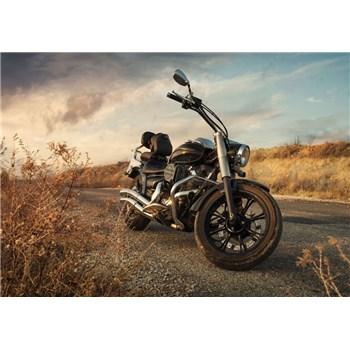 Vliesové fototapety motorka rozmer 368 cm x 254 cm