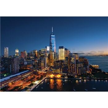Vliesové fototapety New York Manhattan rozmer 368 cm x 254 cm
