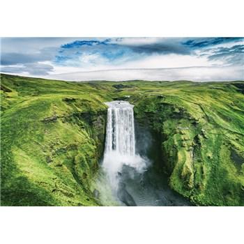 Vliesové fototapety vodopád rozmer 368 cm x 254 cm