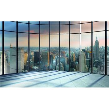 Fototapety 3D New York pohľad z mrakodrapu