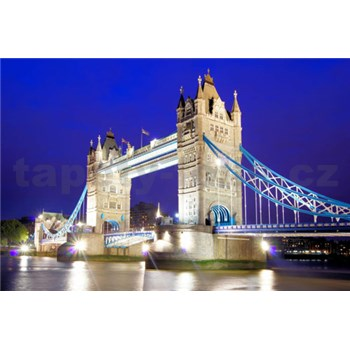 Vliesové fototapety Tower Bridge, rozmer 312 x 219 cm