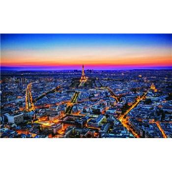 Fototapety Paríž v noci, rozmer 368 cm x 254 cm