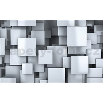 Vliesové fototapety 3D štvorce, rozmer 416 cm x 254 cm