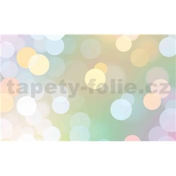 Papierové fototapety Abstract Bokeh Pastel  rozmer 254 cm x 184 cm