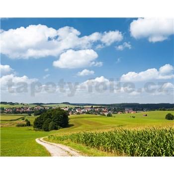 Vliesové fototapety Hefele Bavorská idyla, rozmer 350 cm x 280 cm