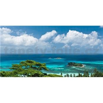 Vliesové fototapety Hefele výhľad na more, rozmer 400 cm x 200 cm