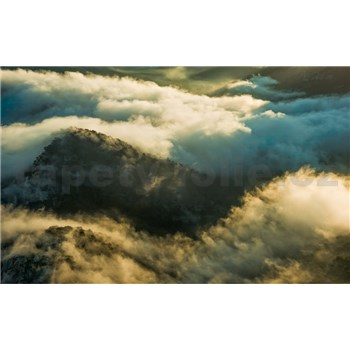 Vliesové fototapety Hefele hmla nad Mallorcou, rozmer 450 cm x 280 cm
