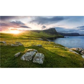 Vliesové fototapety Hefele Škótsky raj, rozmer 450 cm x 280 cm