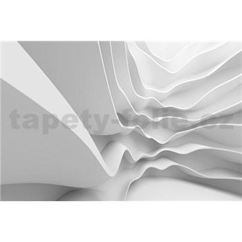 Vliesové fototapety futuristické vlny rozmer 375 cm x 250 cm