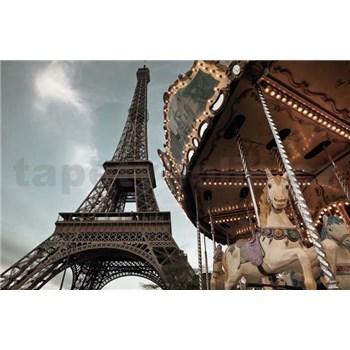 Fototapeta Eiffelova veža, rozmer 184 x 127 cm