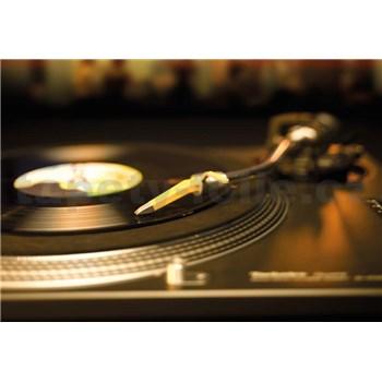 Fototapety gramofónová platňa