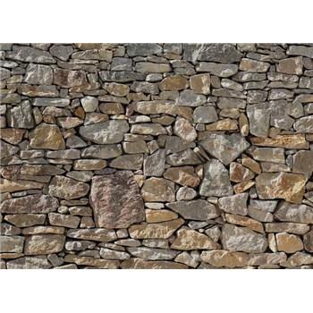 Fototapeta kamenná stena, rozmer 368 x 254 cm