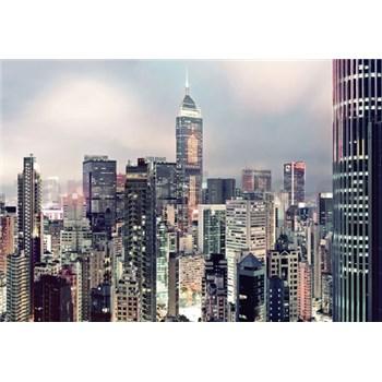 Fototapety panorama veľkomesta, rozmer 368 x 254 cm