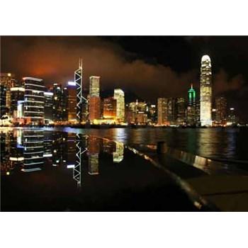 Fototapety nočné veľkomesto, rozmer 368 cm x 254 cm