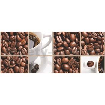 Vliesové fototapety káva, rozmer 250 x 104 cm