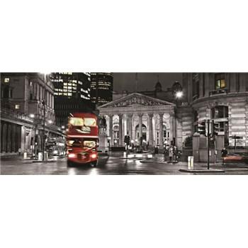 Vliesové fototapety Double Decker v Londýne, rozmer 250 x 104 cm
