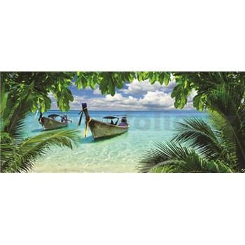 Vliesové fototapety Thajská plaž, rozmer 250 x 104 cm