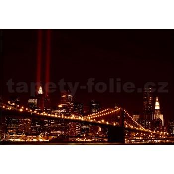Vliesové fototapety New York světla města, rozmer 208 x 146 cm
