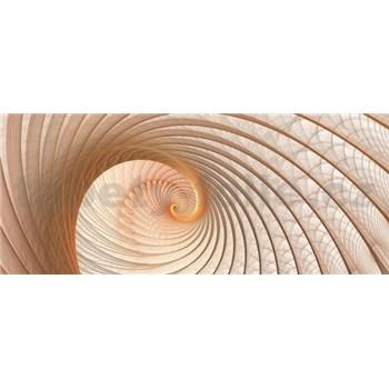 Vliesové fototapety lastúra hnedá, rozmer 250 x 104 cm