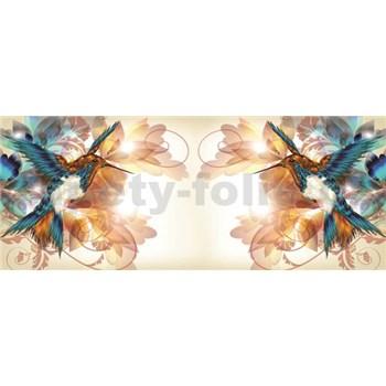 Vliesové fototapety kolibríky, rozmer 250 x 104 cm