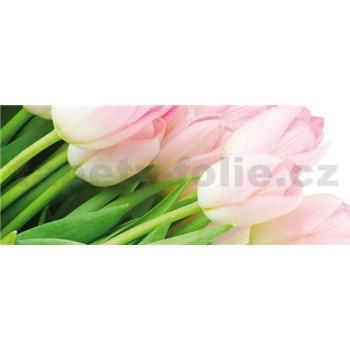 Vliesové fototapety tulipány, rozmer 250 x 104 cm