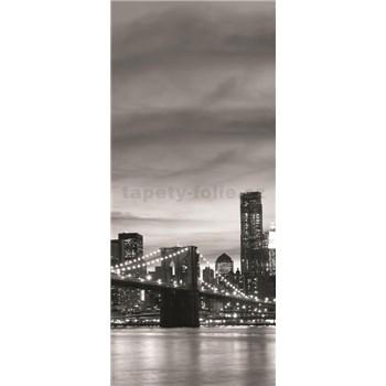 Vliesové fototapety Brooklyn Bridge, rozmer 91 x 211 cm