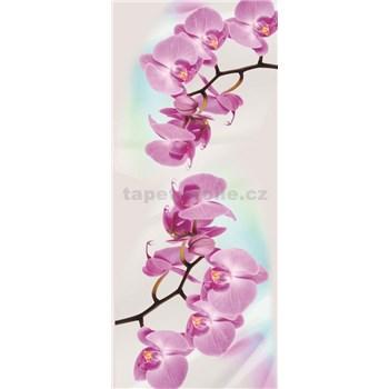 Vliesové fototapety orchidea, rozmer 91 x 211 cm