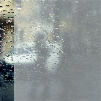 Statické fólie transparentné SAND - 45 cm x 15 m
