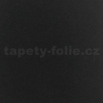 Samolepiaca velúrová tapeta - čierna 45 cm x 5 m
