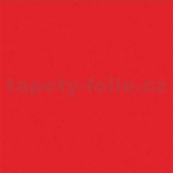 Samolepiace tapety - červená matná, metráž, šírka 67,5 cm, návin 15m,