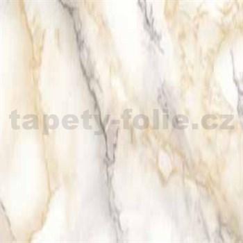 Samolepiace tapety mramor Carrara svetle béžová 45 cm x 15 m