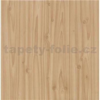 Samolepiace tapety borovicové drevo - renovácia dverí - 90 cm x 210 cm