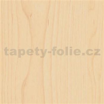 Samolepiace tapety javorové drevo - renovácia dverí - 90 cm x 210 cm