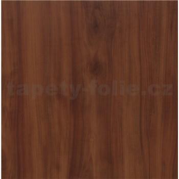 Samolepiace tapety jabloňové drevo červené - renovácia dverí - 90 cm x 210 cm