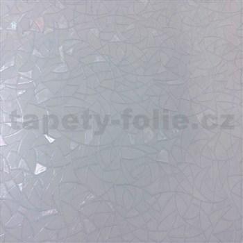 Statická fólia 3D vitráž - 45 cm x 15 m