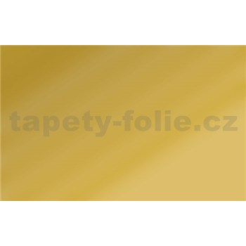 Zlatá lesklá samolepiaca fólia šírka 45 cm