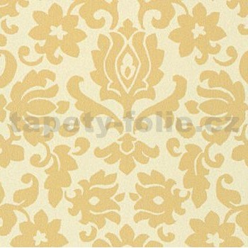 Samolepiace tapety ornament béžový, metráž, šírka 67,5 cm, návin 15m,