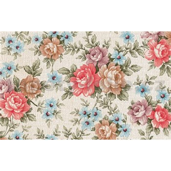 Samolepiace tapety kvety ruže 90 cm x 15 m