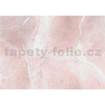 Samolepiace tapety mramor Perugia ružová , metráž, šírka 67,5cm, návin 15m,