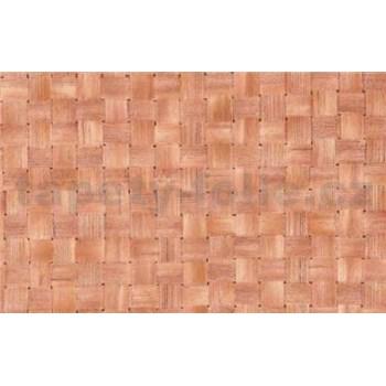 Samolepiace tapety - ratan svetlý 90 cm x 15 m