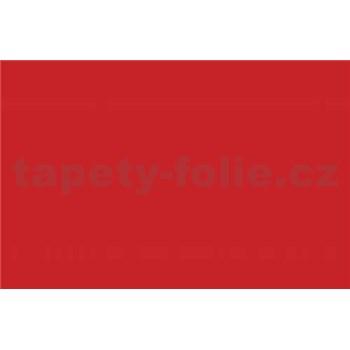 Samolepiace tapety - červená rumelka , metráž, šírka 67,5cm, návin 15m,