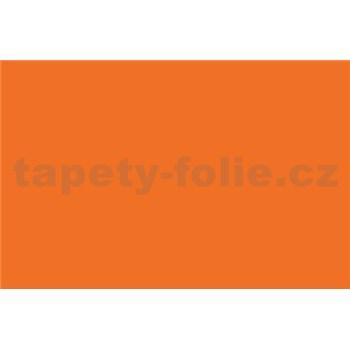 Samolepiace tapety - oranžová , metráž, šírka 67,5cm, návin 15m,