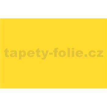 Samolepiace tapety - žltá , metráž, šírka 67,5cm, návin 15m,