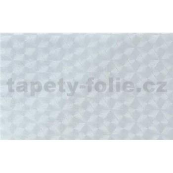 Samolepiace tapety transparentné kosoštvorce 90 cm x 15 m